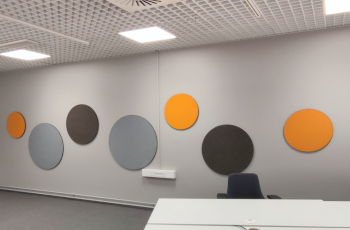 Hush Felt Round Notice boards