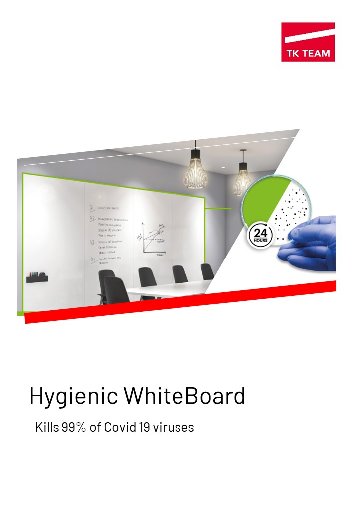 Hygienic Whiteboard brochure